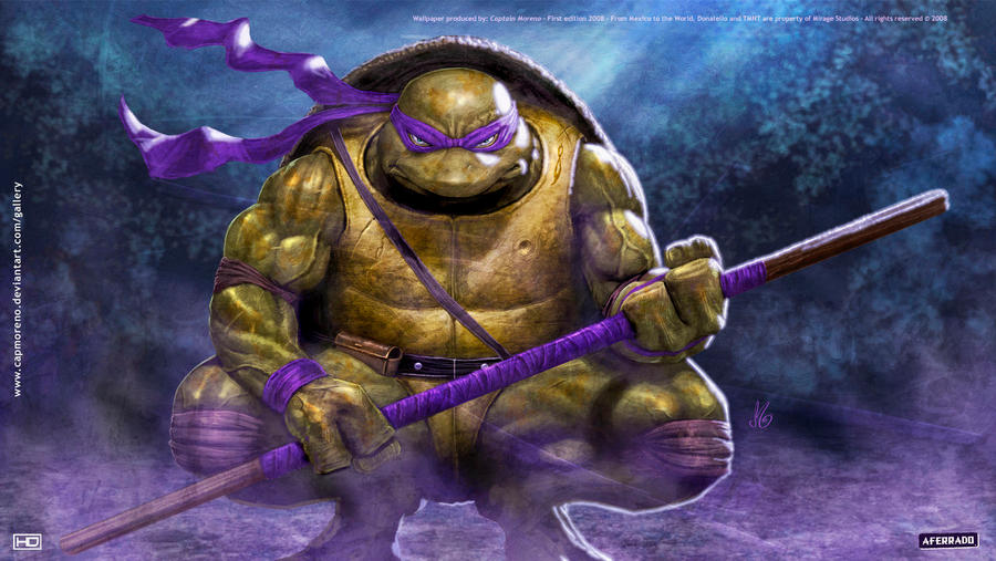 wallpaper tmnt 2007 donatello