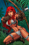 Red Sonja Cover Colors