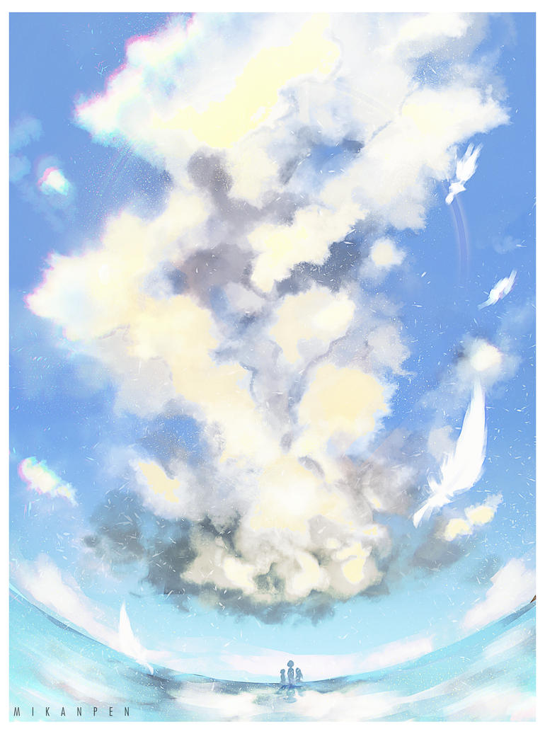 Cloud by Mikanpen