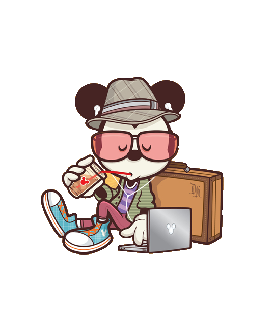 Mickey Hipster (PNG 1) by GlorijaDubravcic on DeviantArt