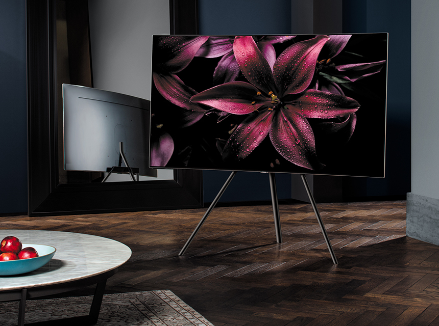 Samsung QLED TV: Infuse Smartness To Your Space By