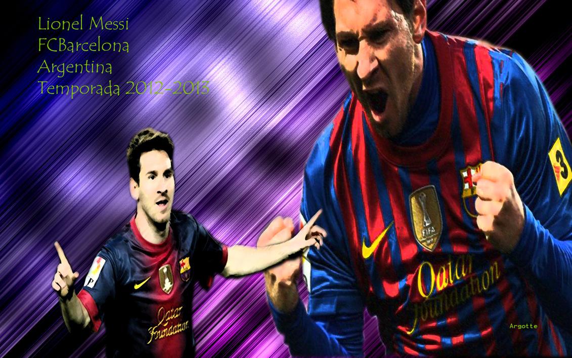 Lionel Messi Wallpaper 2012 2013 By Argotte