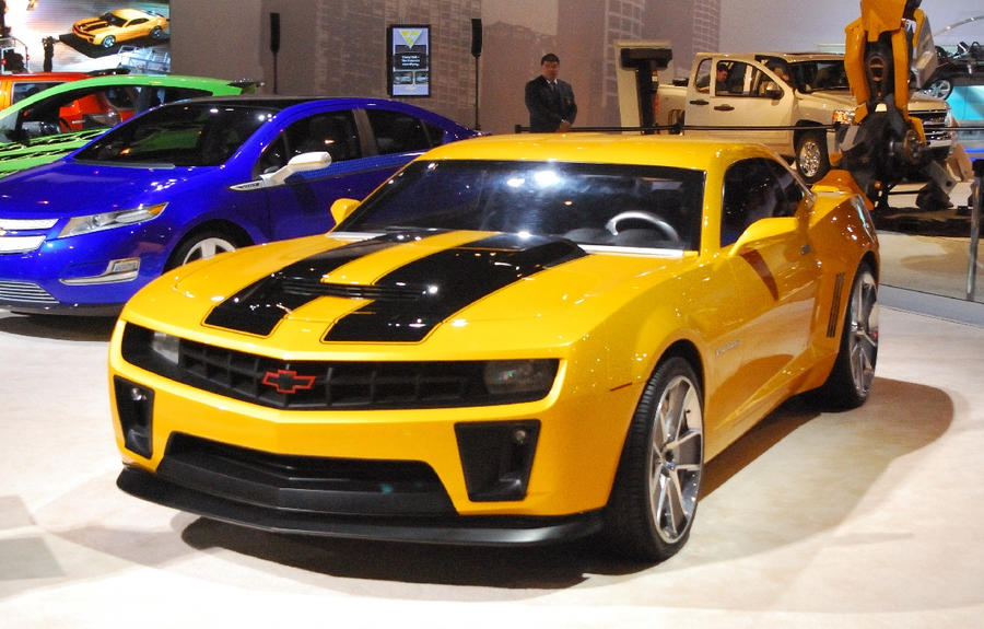 Bumblebee Camaro By Tfcreate On Deviantart