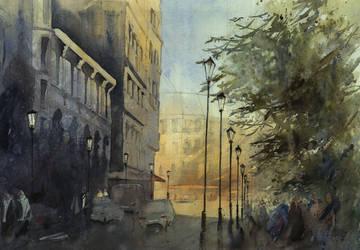 Rue du Cloitre Notre Dame by snataliee