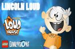 LEGO Dimensions Fan Poster - Lincoln Loud