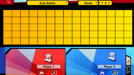 Smash Ultimate Roster Template