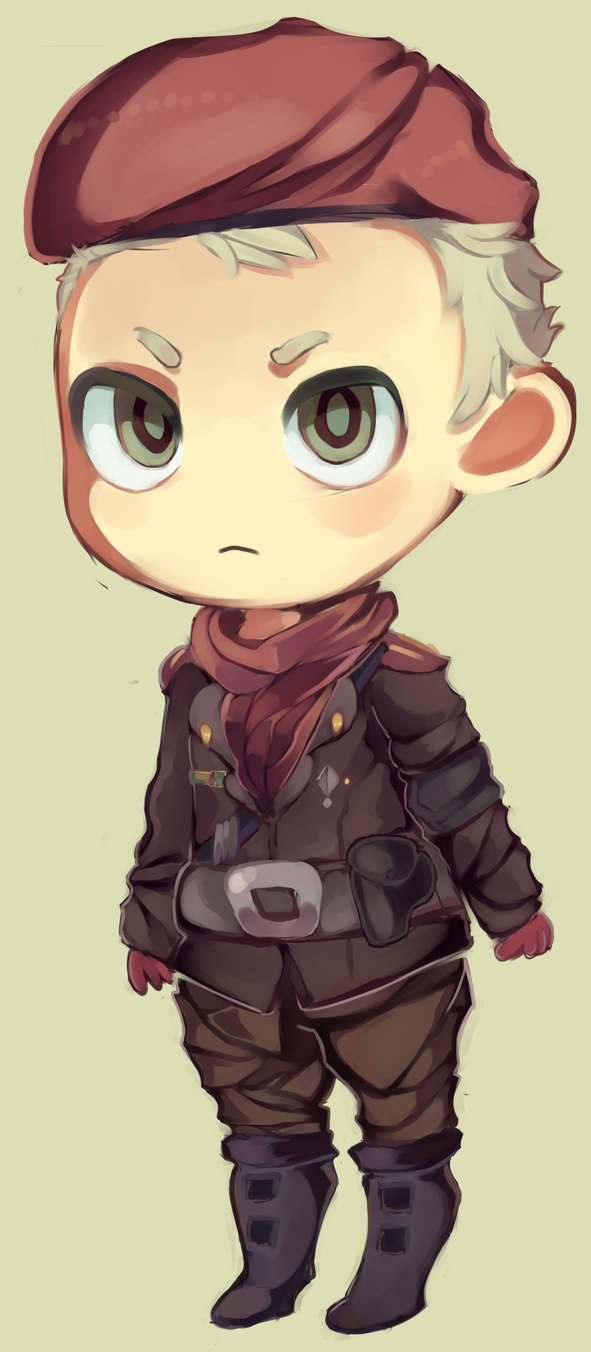 Major Ocelot by MissionComplete