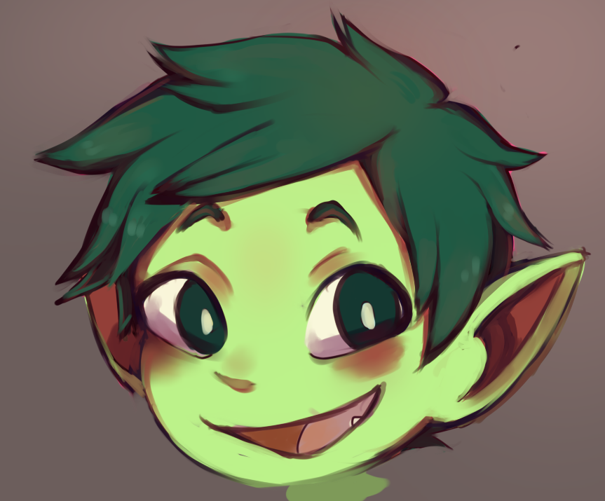 quick beast boy by MissionComplete
