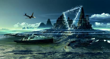 Devil's Sea by ErikShoemaker