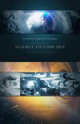 Scifi Calendar 2019 by ErikShoemaker