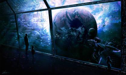 Deus Ex Machina by ErikShoemaker