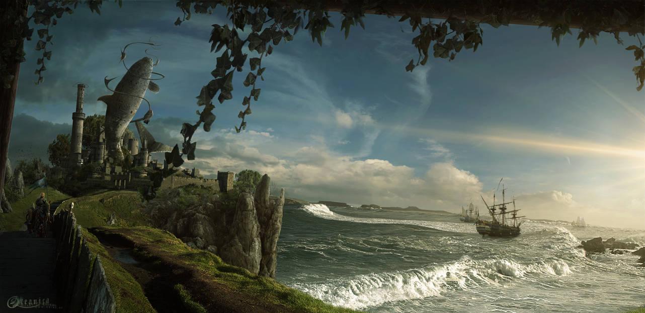 Oceanica II by ErikShoemaker