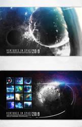 Ventures in Space Calendar 2019 by ErikShoemaker