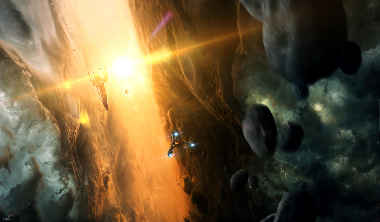 Nebula Up-Close by ErikShoemaker