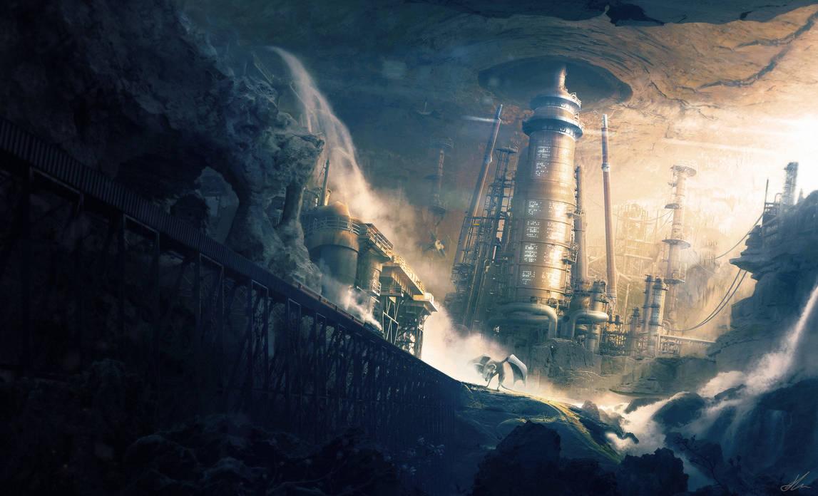 Road to Barlangis by ErikShoemaker
