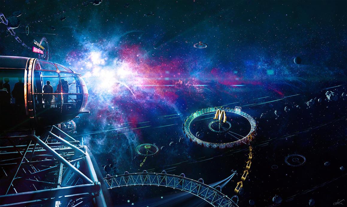 Supernova Observatory by ErikShoemaker