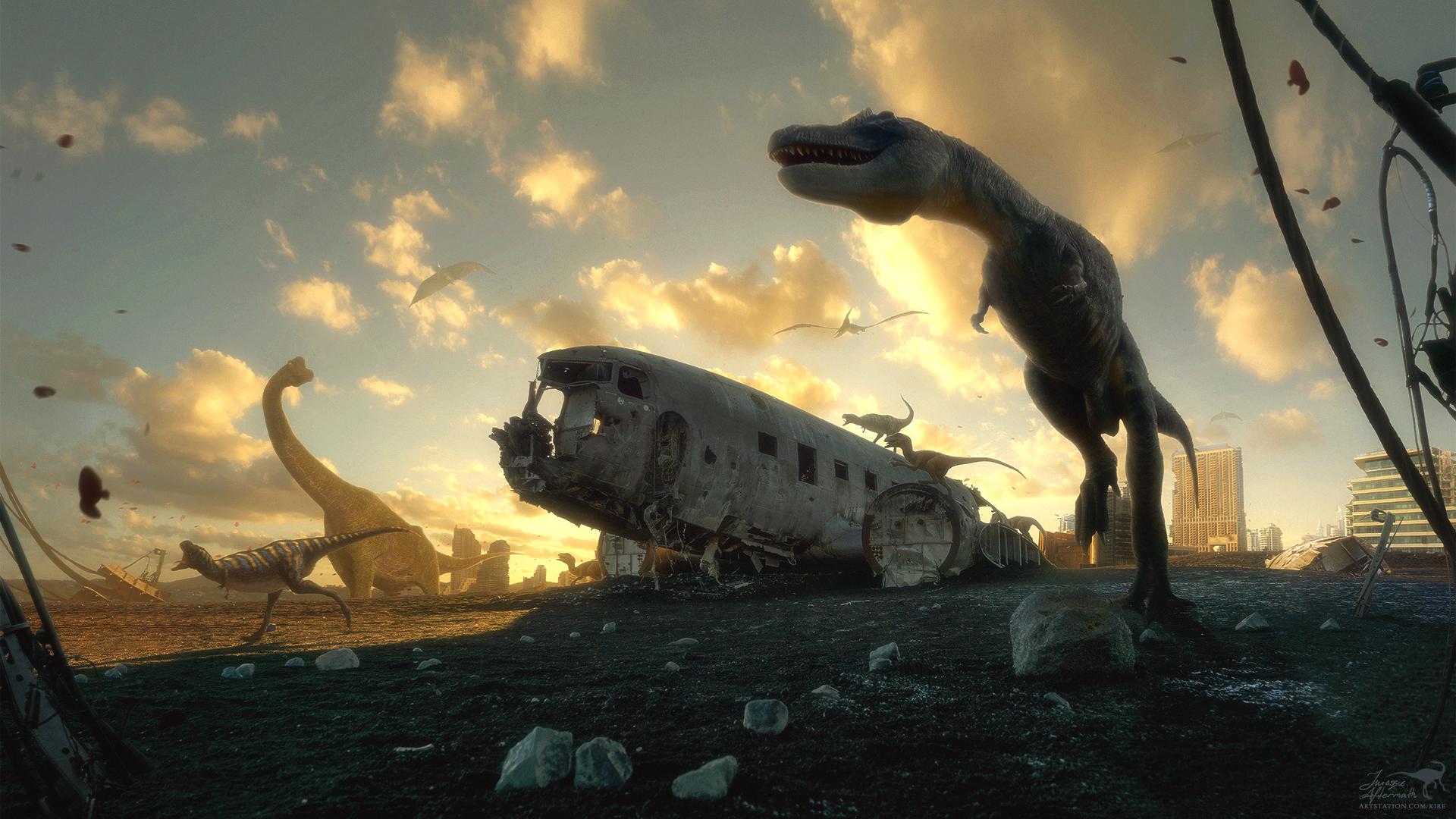 Jurassic Aftermath by ErikShoemaker