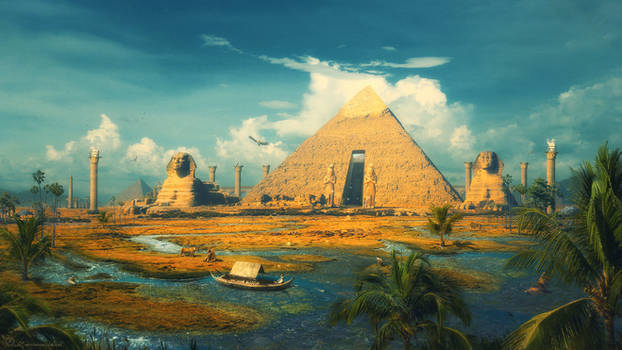 Oasis of the Gods by ErikShoemaker