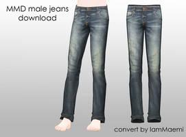 MMD Male Jeans + DL by IamMaemi