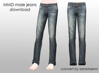 MMD Male Jeans + DL
