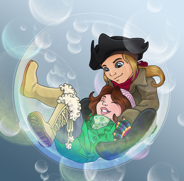 Bubble Children - Alen n' Bea by Wazaga