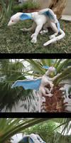 White Dragon Plush Prototype