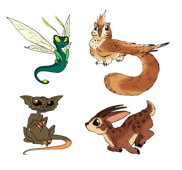 EH animals by Wazaga