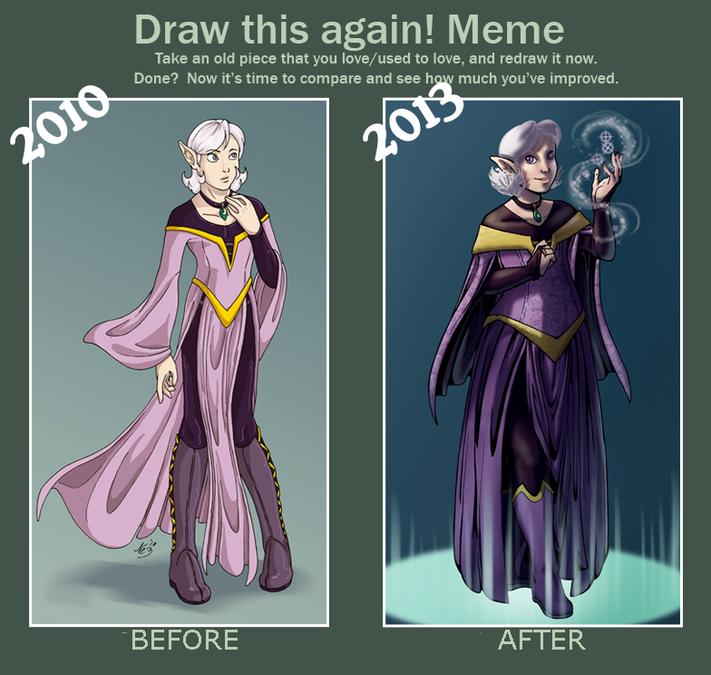 Draw This Again Meme by Wazaga