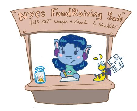 Will Art 4 Cash - NYCC Fundraiser by Wazaga