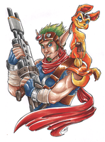 Jak and Daxter by Wazaga