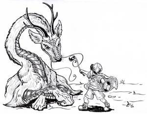 The Little Dragon Hunter