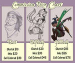 Character Commission Price Chart by Wazaga