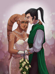 Kesara and Ka's wedding