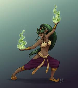 Nefra - Empress of Flames