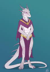 DnD - Anya as a Dragoneborne