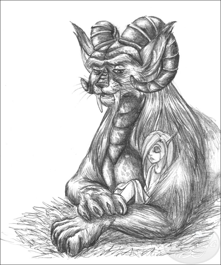 Sambo and Ursula by Wazaga