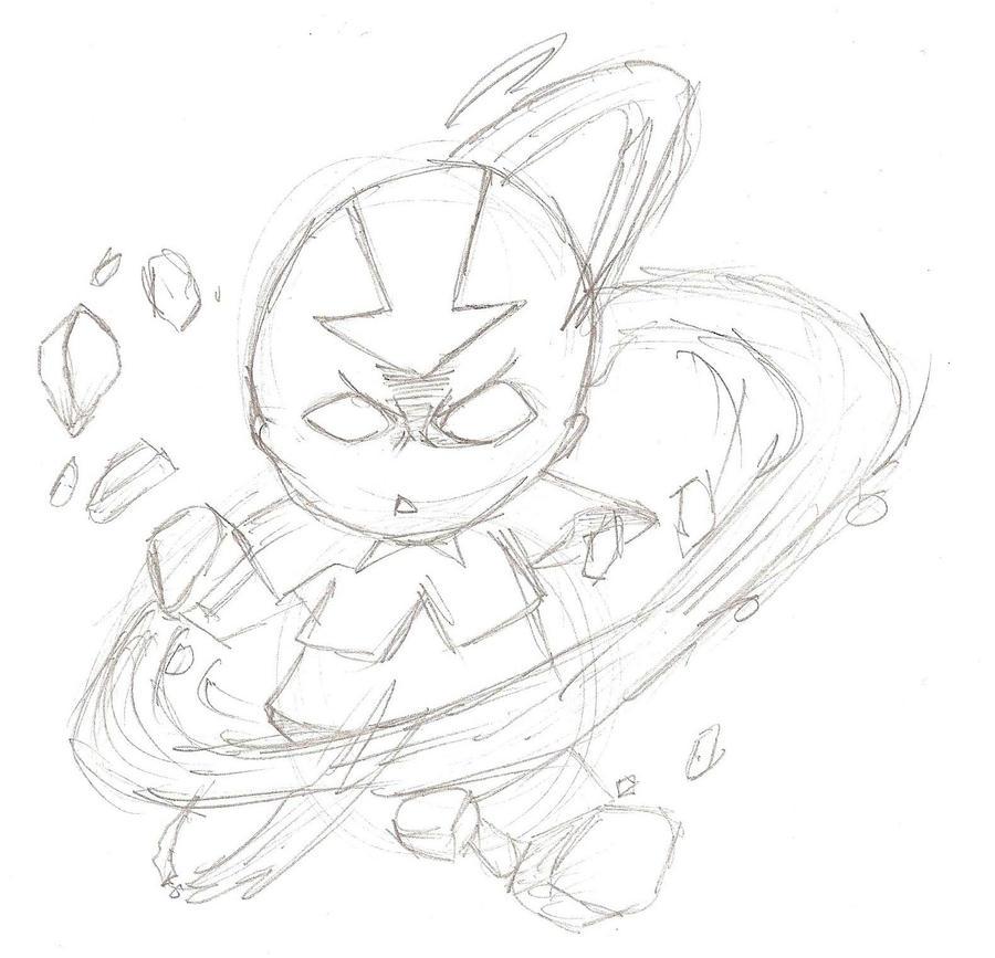 Galeria de desenhos NarutoZ - Página 6 Aang_by_naruto_z