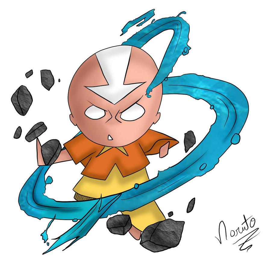 Galeria de desenhos NarutoZ - Página 6 Aang_Colored_by_naruto_z