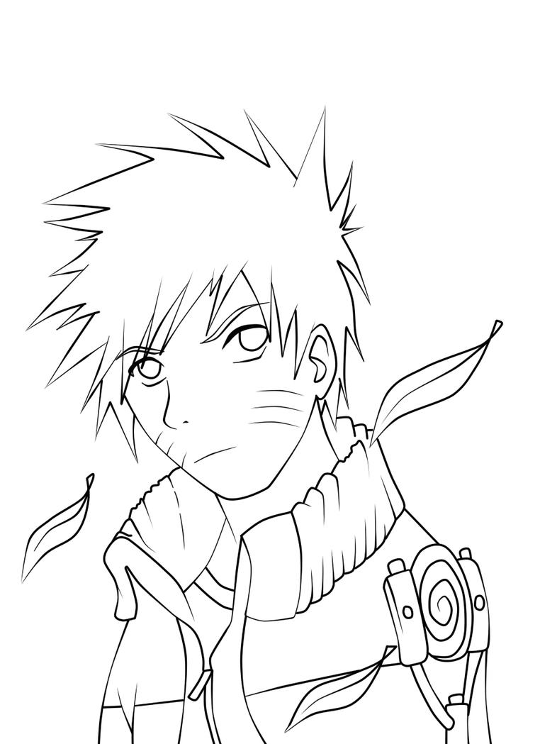 naruto lineart by naruto z on deviantart