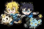 Commission: Elias + Katsuya