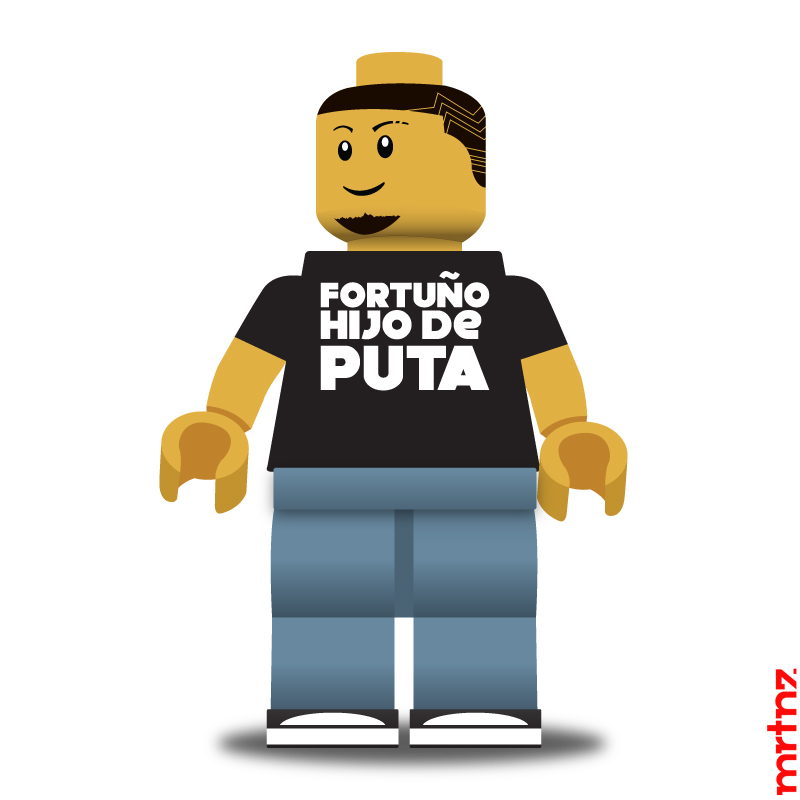 Calle13 LEGOMANIAC by MRTNZ