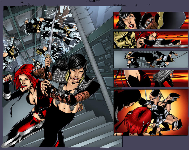 bloodRayne Page 3-4 Preview by juan7fernandez