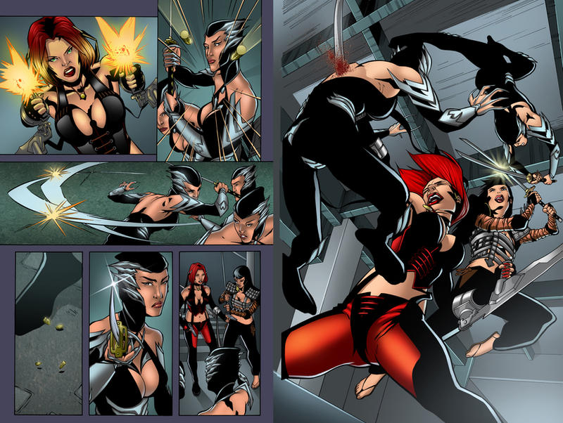 bloodRayne Page 5-6 Preview by juan7fernandez