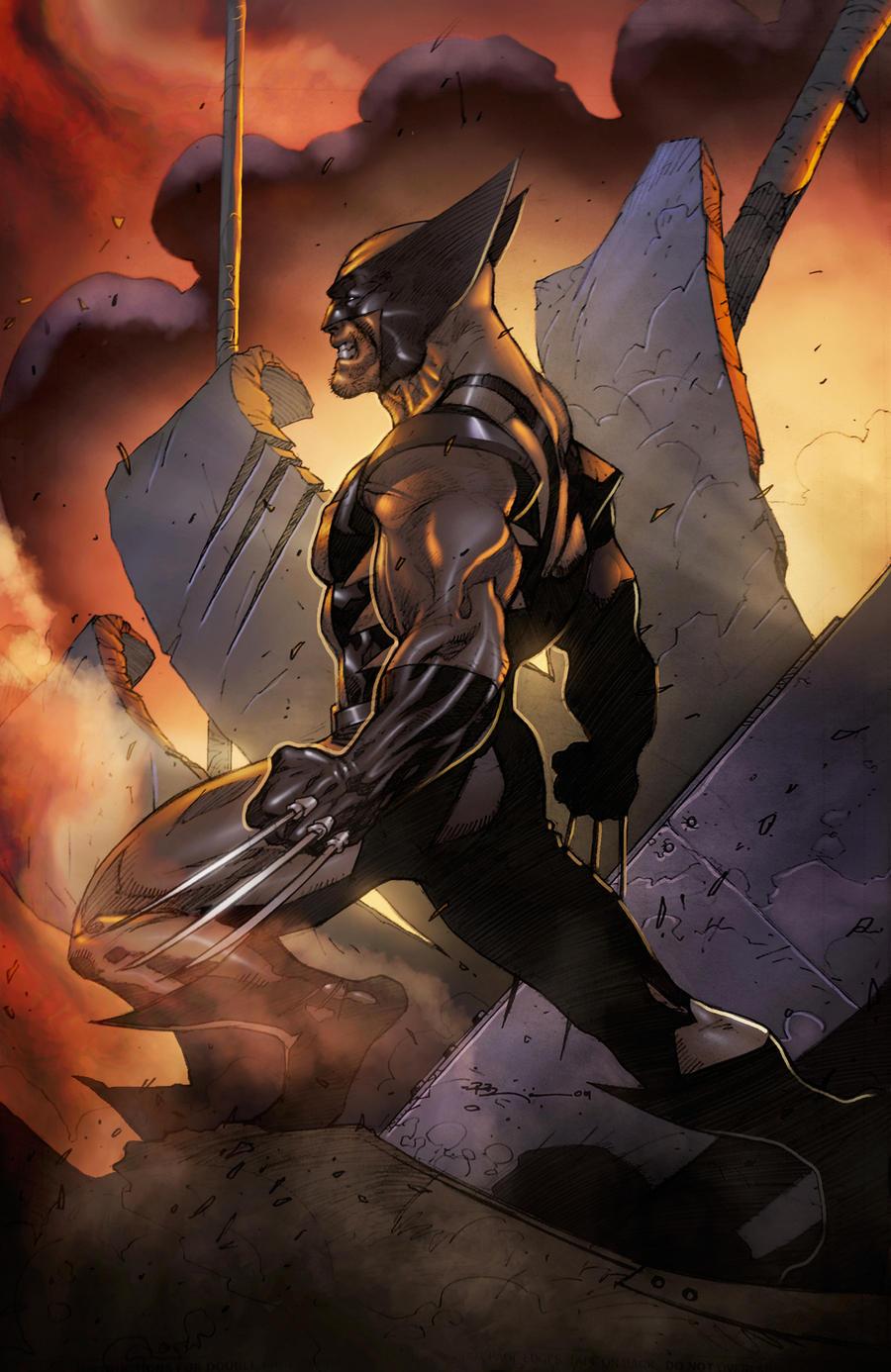 Wolverine by Ryan Benjamin by juan7fernandez