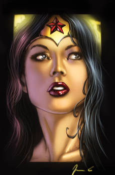 Wonder woman Paint after Scott