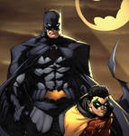 Greg Capullo Batman and Robin