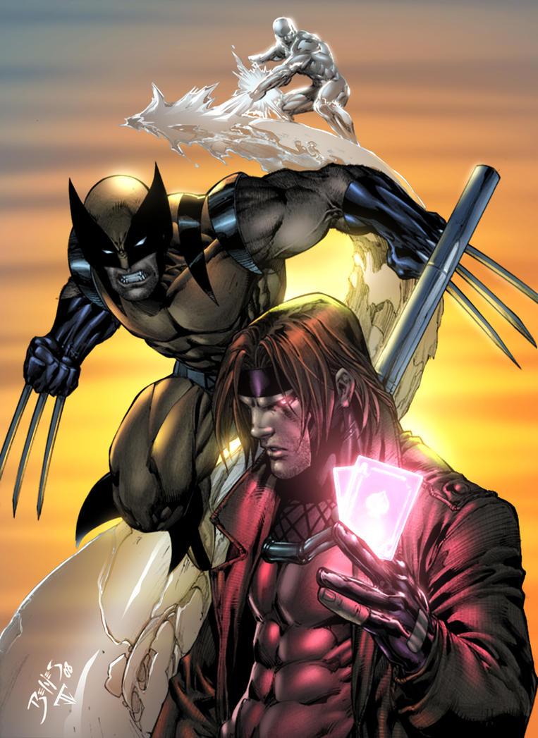 Wolverine Gambit by Benes by juan7fernandez