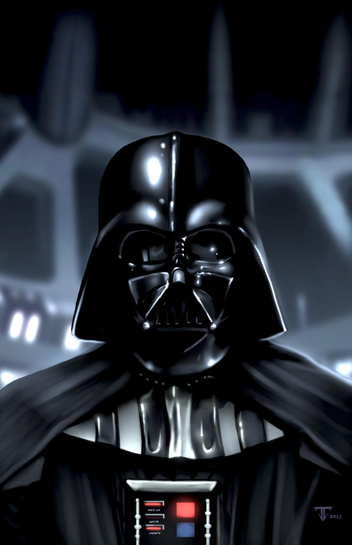 My First Vader by juan7fernandez