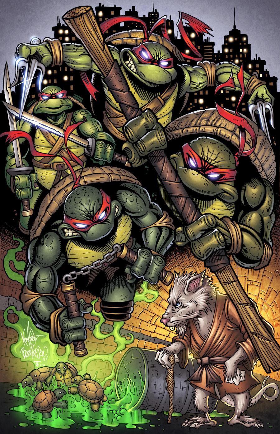 Ninja Turtles 1 by juan7fernandez