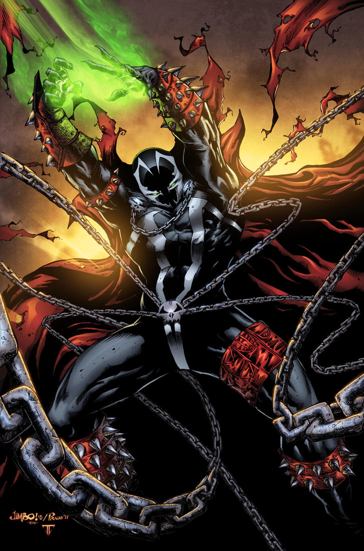 Spawn With Jimbo Dan Prado And Me By Juan7fernandez On